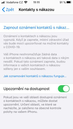 Apple iOS 13.7 COVID-19