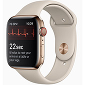 Apple Watch 4 nyní naměří i EKG