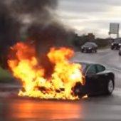 Hořící elektromobily: časované bomby na silnicích?