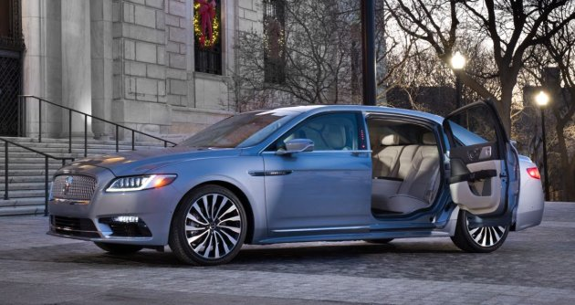 Lincoln Continental 80th Anniversary Coach Door Edition