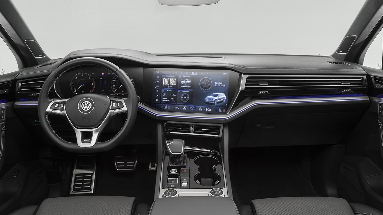 Galerie Volkswagen Touareg Interi 233 R Svět Mobilně