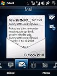 Pošta - přehled emailů (2)