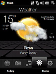 Počasí - Jednodenní předpověď (2)