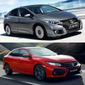 Srovnáváme: Honda Civic 9G 1.8 vs Civic 10G 1.0 Turbo