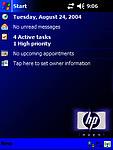 Témátko HP Blue Lite