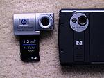 Porovnání fotoaparátu s SD foťákem