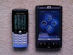 Porovnání s telefonem Ericsson T610