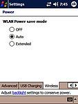Nastavení výkonu WiFi modulu