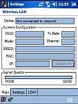 Nastavení Wireless LAN