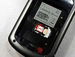 Detail na místo pro SIM kartu