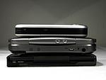 Srovnání - zezhora MDA Compact, HTC Universal, iPAQ hx4700
