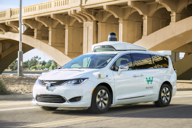 Waymo One Chrysler Pacifica Hybrid